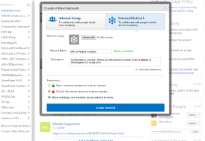 Yammer external network