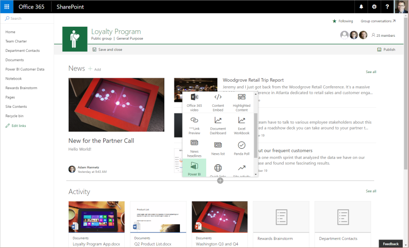 how and when to adopt the modern ui in sharepoint part 1 2 nathan wells. Black Bedroom Furniture Sets. Home Design Ideas